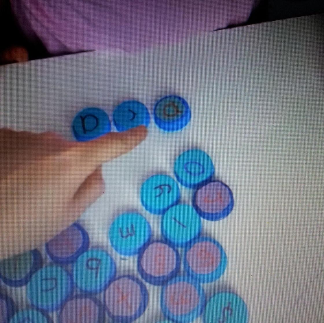 Jag lär mig bokstäver