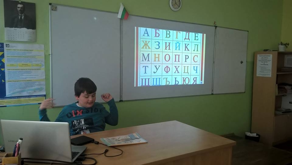 Unterrichten eines 8-Jahre alten Kindes, bei dem Autismus diagnostiziert wurde
